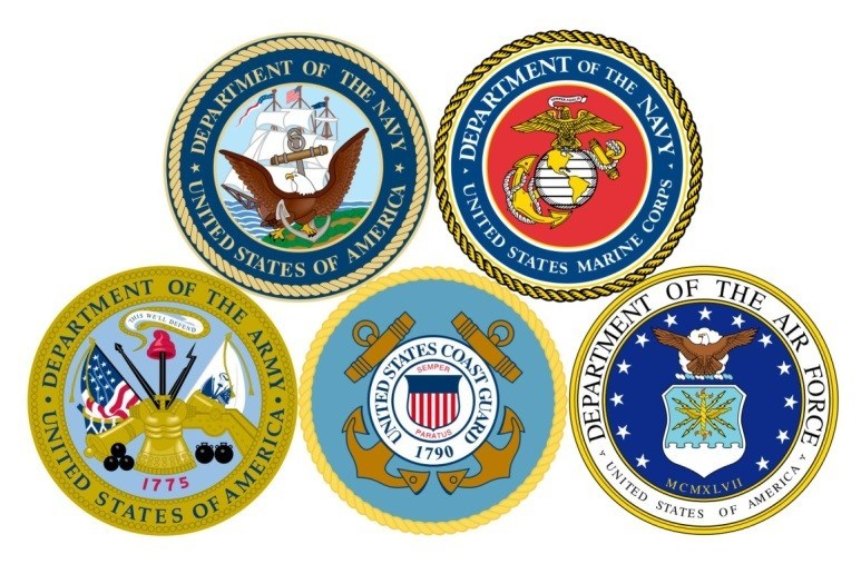 Armed Forces Night recognizes the Navy, Army, Air Force, Coast Guard, and the Marine Corps