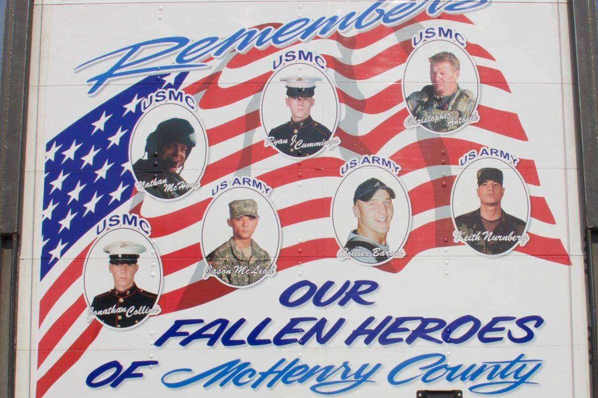 Fallen Heroes of McHenry County celebrated at Armed Forces Night