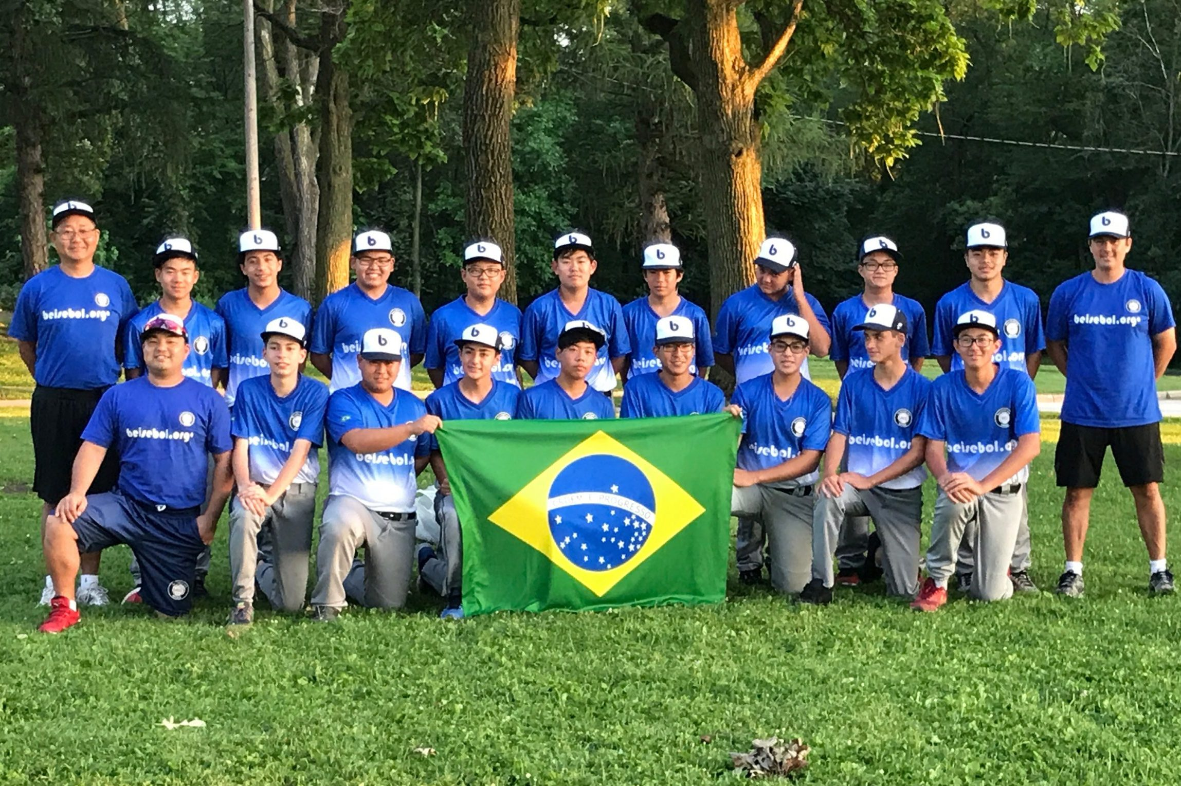 Beisbol.org from Brazil at the McHenry County Youth Sports Association Tournament