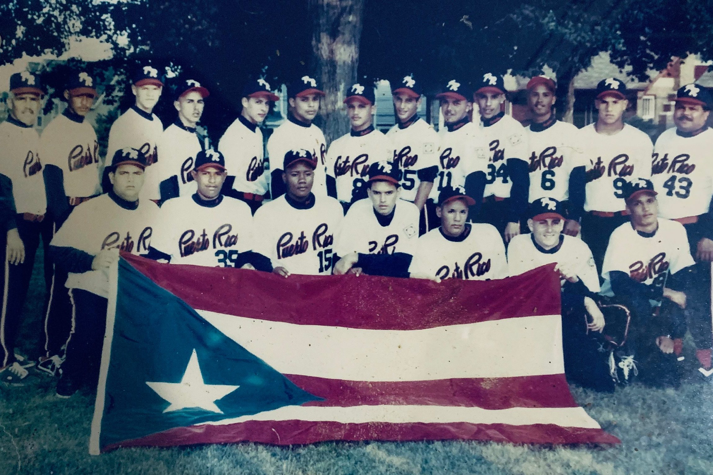 The Maceteros from Puerto Rico at the MCYSA tournament