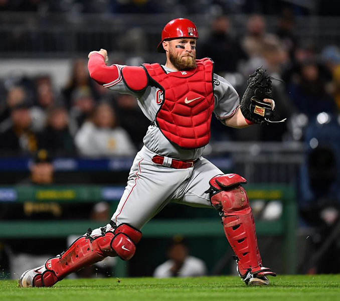 Tucker Barnhart - McHenry County Youth Sports Association Alum